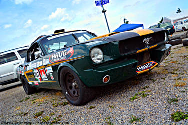 Ford Mustang Fastback 1966 by DavidGrieninger
