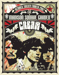 CREAM CONCERT POSTER by tomcat72888