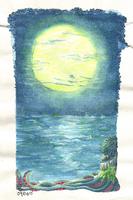 Day 5: Blue by serkunet
