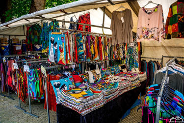 Clothing Market Stall by SIG442
