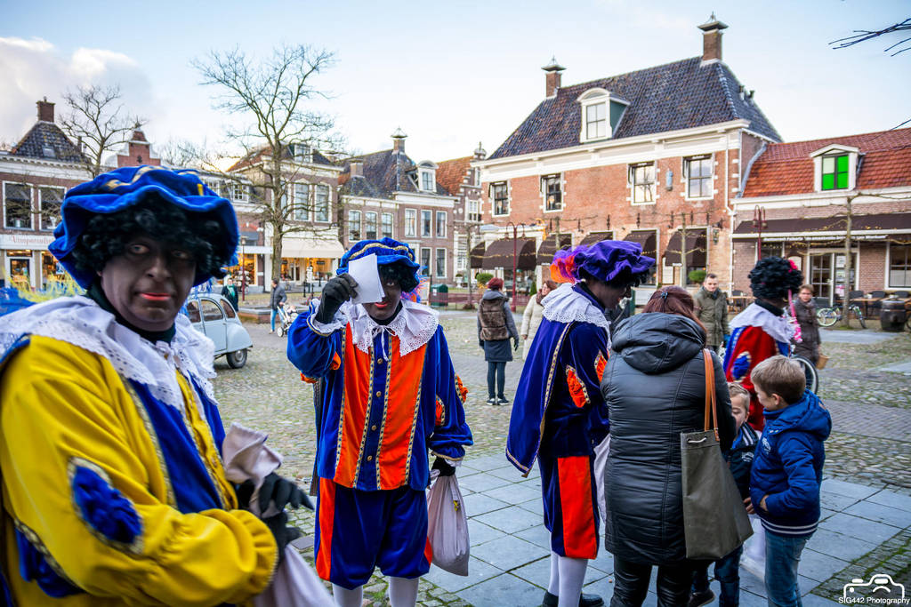 Zwarte Pieten Gathering On The Town Square by SIG442
