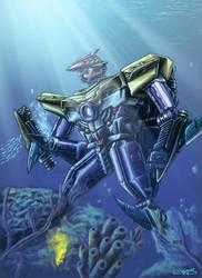 Energon Sharkticon by 1DB
