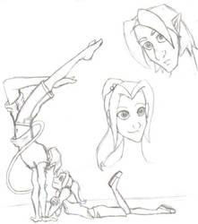 Thats Neat PencilSketch by raeraerachel26