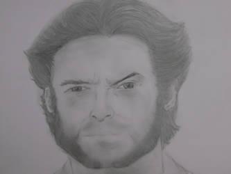 Wolverine - Hugh Jackman by CaptainUsoppSama