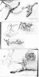 Spiderman - Body in Action by toshko