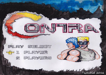 Contra in Hackafe by toshko
