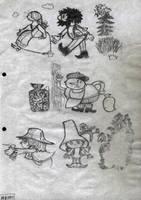 Rumzeis illustrations by toshko