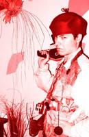 Photo Warrior Red by toshko