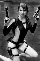 Lara Croft - Wetsuit by Lena-Lara