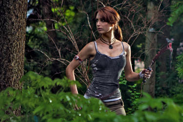 Into the woods by Lena-Lara