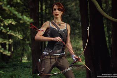 Survivor in the woods by Lena-Lara