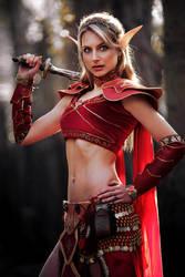 Warcraft Blood Elf by Lena-Lara
