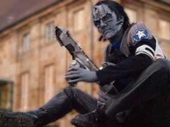 cardassian starfleet officer by Necr0w