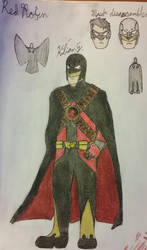 Red Robin Redesign by kilian777
