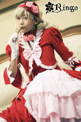 Lizzy with pokcy 2 by ashura--hime