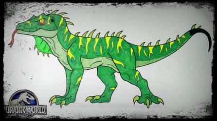 Jurassic World 2 Hybrid: Sparky (unofficial) by Wolfbane-Kiryu