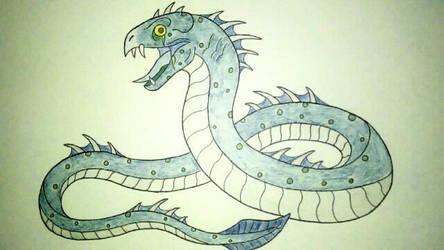 Sea Serpent Kaiju by Wolfbane-Kiryu