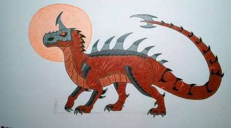 Primal Rage Boss: Kronos the God of Corruption by Wolfbane-Kiryu