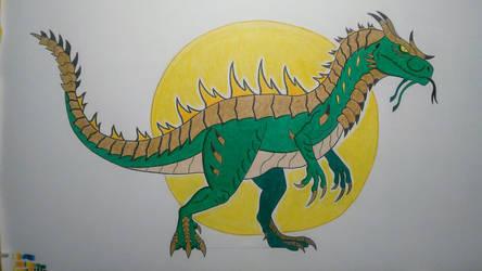 MonsterVerse: Dracotitan by Wolfbane-Kiryu