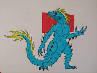 MonsterVerse: Barraki by Wolfbane-Kiryu