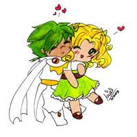 Cute Fuu + Ferio by Mimiluvbug