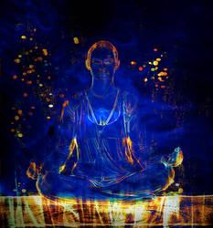 Blue Meditation by depalpiss