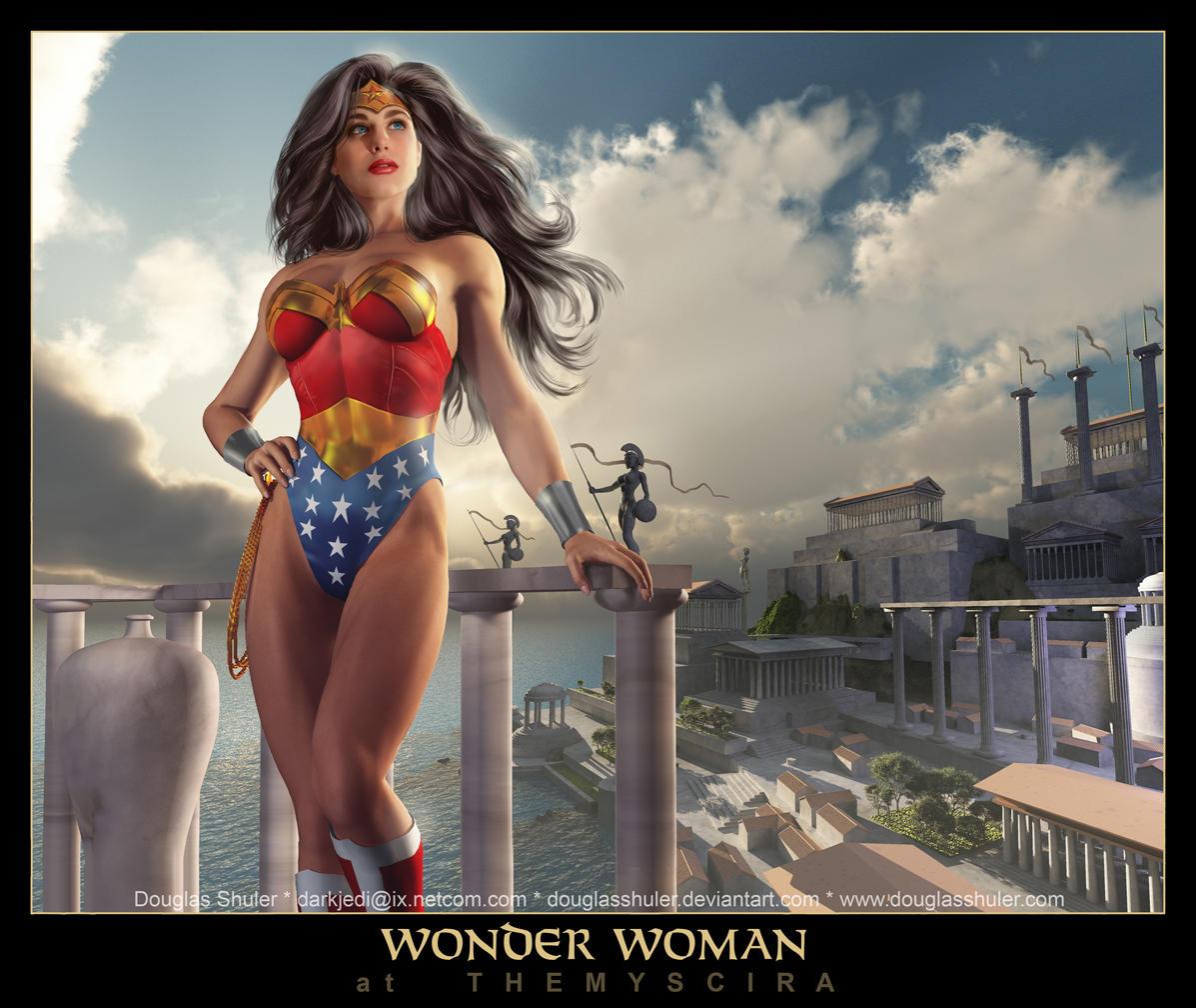 WONDER WOMAN by DouglasShuler
