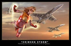Crimson Storm by DouglasShuler