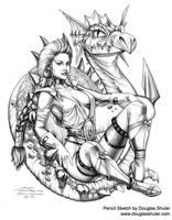 DragonWyne by DouglasShuler