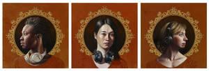 Listen 33, 34, 35 Triptych by benke33