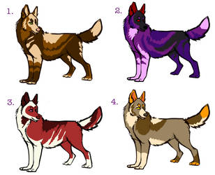 Doggy Adoptables $3 by iambecky