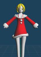 Santa girl WIP by VanMak