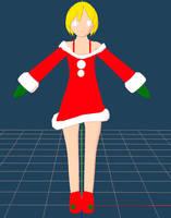 Santa Girl WIP 2 by VanMak