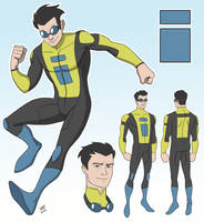 Invincible Redesign Entry by EadgeArt