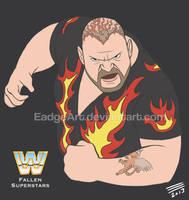 WWE Fallen Superstars: Bam Bam Bigelow by EadgeArt