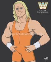 WWE Fallen Superstars: Mr. Perfect Curt Hennig by EadgeArt