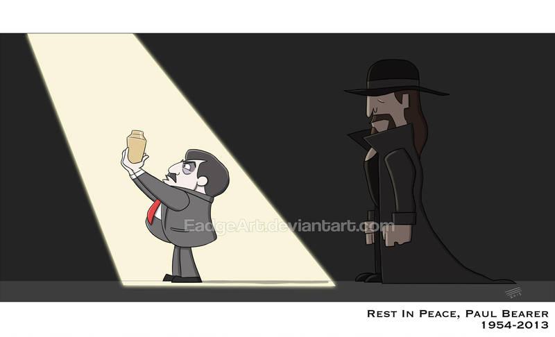 Rest in Peace, Paul Bearer by EadgeArt