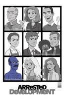 Arrested Development Season 4! by EadgeArt