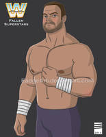 WWE Fallen Superstars: Chris Benoit by EadgeArt