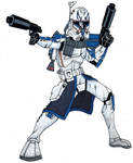 Captain Rex phase II by Spartan-055