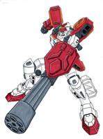 Gundam Heavyarms by Spartan-055