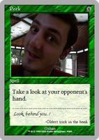 Peek the Magic Card by 0zhan