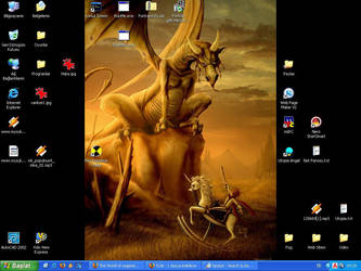 My Desktop by 0zhan