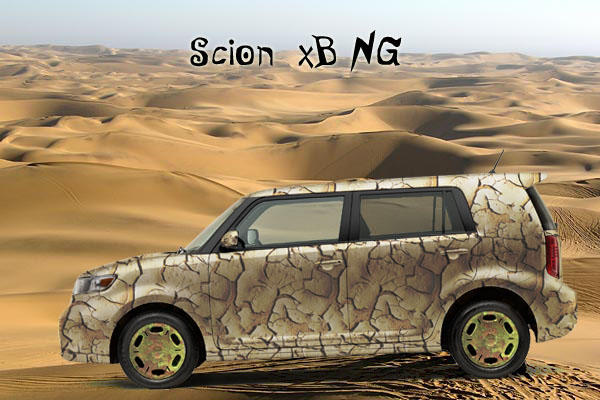 Camouflaged Scion II by 0zhan