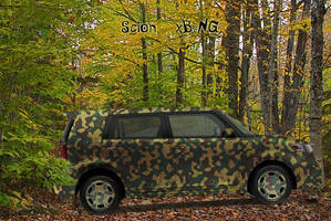 Camouflaged Scion III by 0zhan