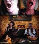 [Alony and Sunchild] Ah! Happy Halloween! by Yafira