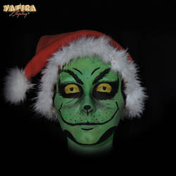 [Makeup-test] The Grinch by Yafira