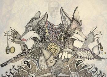 Robbery duet by Flip-Fox