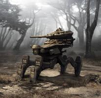 Robot concept by Flip-Fox