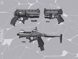 Pistols by Flip-Fox